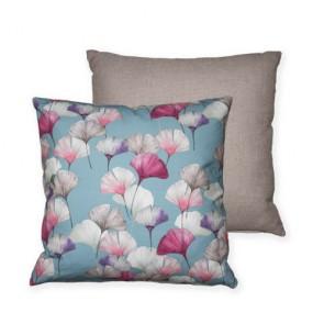 60x60 Celine -Bleu Cushion Cover